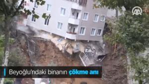 Κωνσταντινούπολη: Κατέρρευσε τετραώροφο κτίριο έπειτα από σφοδρές βροχοπτώσεις – video