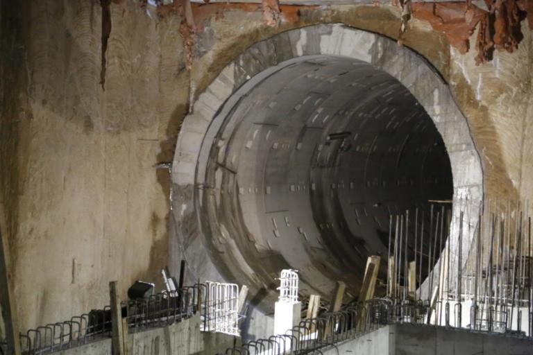 Άνοιξαν όλες οι σήραγγες του Μετρό Θεσσαλονίκης – video