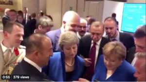 Μουντιάλ 2018: Ποιοι ηγέτες παράτησαν τη Σύνοδο του ΝΑΤΟ και είδαν το Κροατία – Αγγλία – video