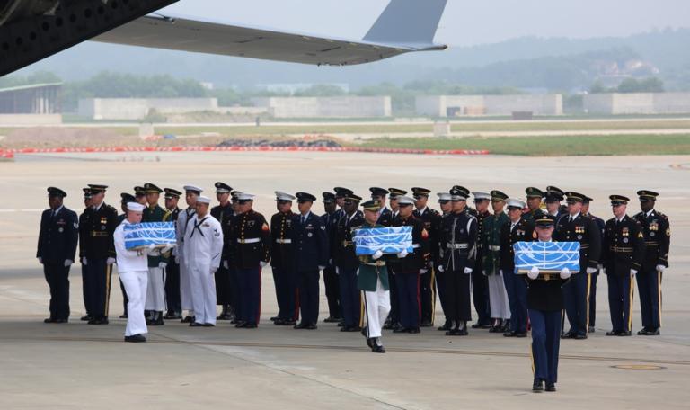 Βόρεια Κορέα: Παρέδωσαν στις ΗΠΑ σορούς Αμερικανών στρατιωτών πεσόντων στον Πόλεμο της Κορέας