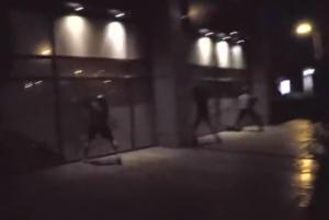 """Βίντεο από την στιγμή του """"ντου"""" στα """"Leroy Merlin"""" στην Κηφισίας – Ανέλαβε την ευθύνη ο Ρουβίκωνας"""