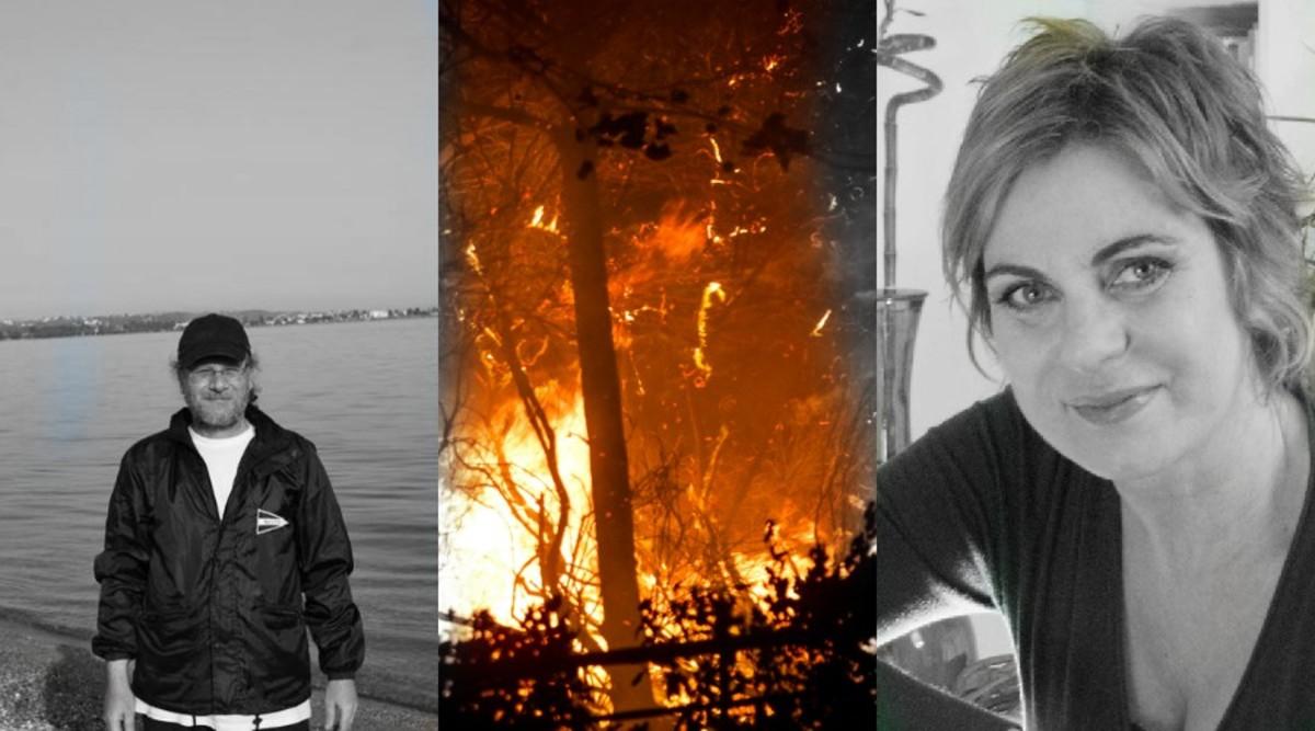 Χρύσα Σπηλιώτη – Δημήτρης Τουρναβίτης: Θα έφευγαν διακοπές αλλά τους πρόλαβε η φωτιά