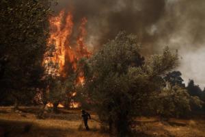 Που υπάρχει κίνδυνος πυρκαγιάς τη Δευτέρα