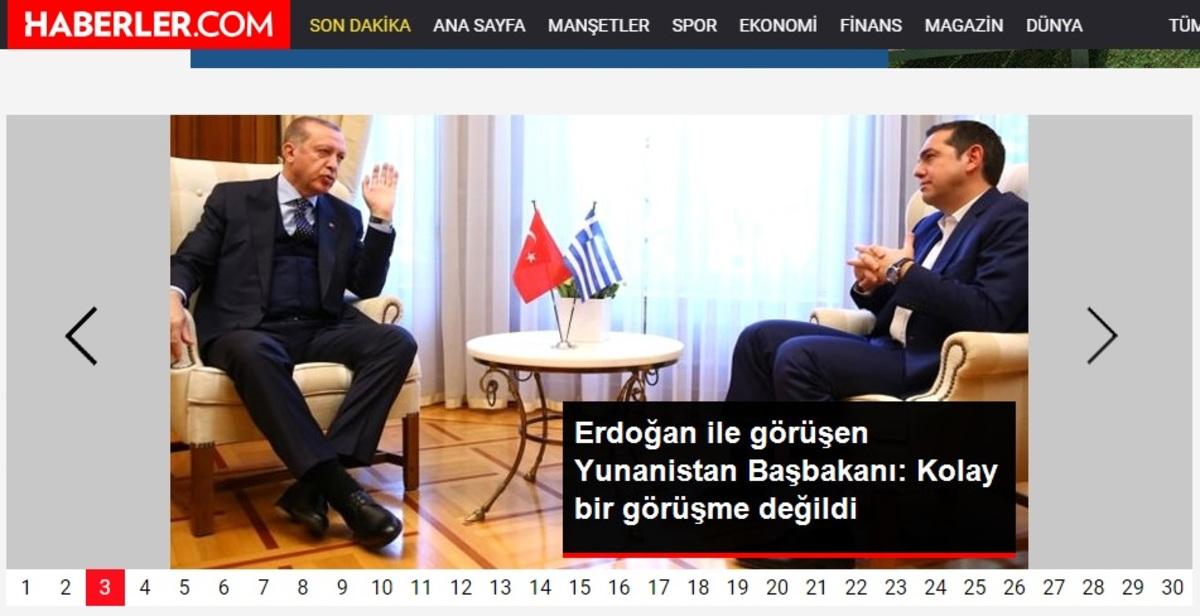 Η ατάκα Τσίπρα που κάνει τον γύρο των τουρκικών ΜΜΕ