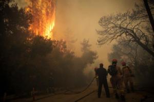 Φωτιά στην Αττική: Συλλυπητήρια από την πρεσβεία των ΗΠΑ και της Ολλανδίας