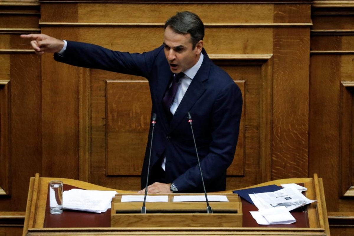 Μητσοτάκης σε Τσίπρα: Είσαι βαθιά διαπλεκόμενος πρωθυπουργός και ψεύτης – Video