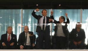 Μουντιάλ 2018: Οι έξαλλοι πανηγυρισμοί του Μακρόν για την πρόκριση της Γαλλίας στον τελικό [pics]