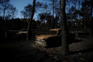 """Φωτιά στην Αττική: """"Βρήκα τους γονείς μου αγκαλιασμένους και απανθρακωμένους"""" – video"""