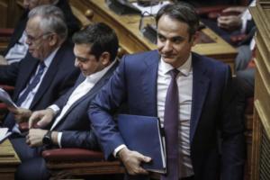 """Μητσοτάκης στο Politico: «ΣΥΡΙΖΑ – ΑΝΕΛ απέτυχαν! Χάρισαν τη """"μακεδονική"""" εθνότητα και γλώσσα»"""