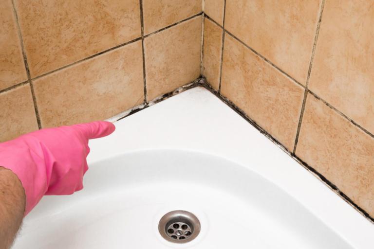 Πώς βγαίνει η μούχλα από τα δύσκολα σημεία στο μπάνιο [vid]