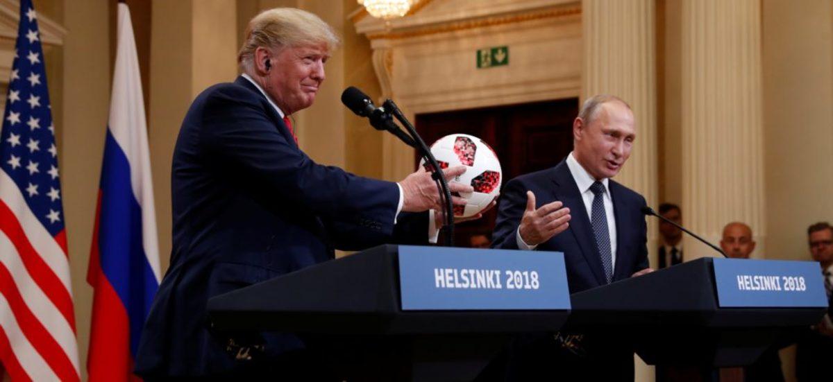 """Τραμπ: """"Καμία συνωμοσία με τη Ρωσία στις αμερικανικές εκλογές"""" – Πούτιν: """"Θα βοηθήσουμε στις έρευνες""""!"""