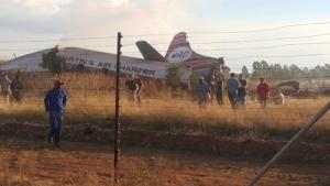 Συντριβή αεροσκάφους στην Νότια Αφρική – Ένας νεκρός και 20 τραυματίες
