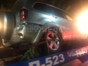Μαρούσι: Νύχτωσε κι ακόμη μαζεύουν κατεστραμμένα αυτοκίνητα – video – [pics]