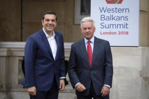 """Τσίπρας: """"Η Ελλάδα ανακτά τον ηγετικό της ρόλο στα Βαλκάνια"""" – video"""