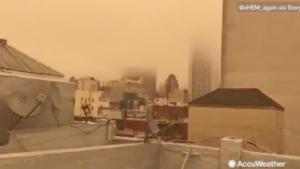 Οι φωτιές «έπνιξαν» το Σαν Φρανσίσκο! – Απίστευτη εικόνα