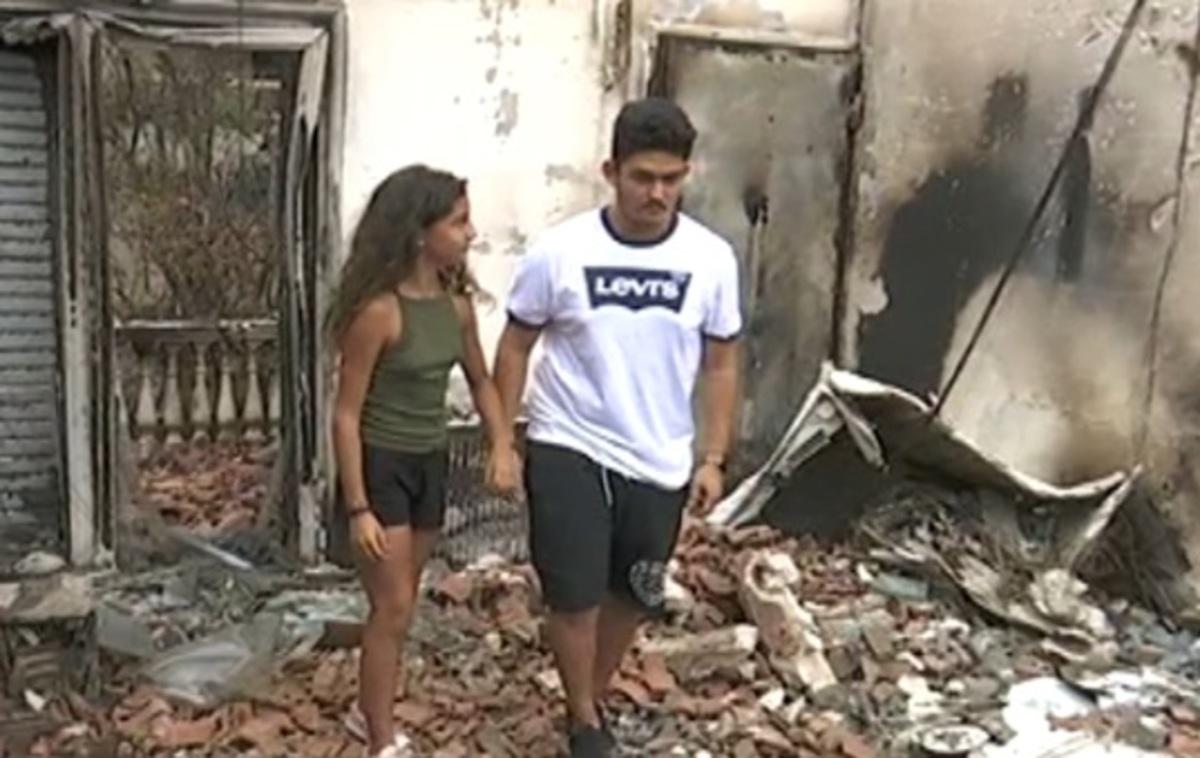 """""""Δεν έχουμε πια σπίτι αλλά ζήσαμε""""! – Συγκλονιστική περιγραφή από δύο αδερφάκια στο Μάτι – video"""