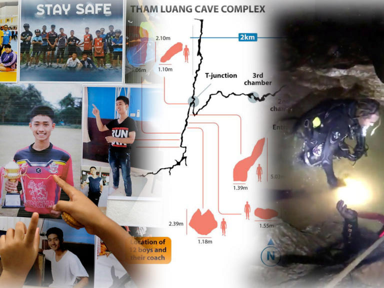 Ταϊλάνδη: Δυο δύτες για κάθε παιδί – Καρέ καρέ η επιχείρηση διάσωσης – Video