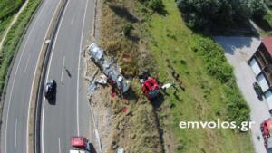 Ένας νεκρός σε τροχαίο με βυτιοφόρο στην Εγνατία – video