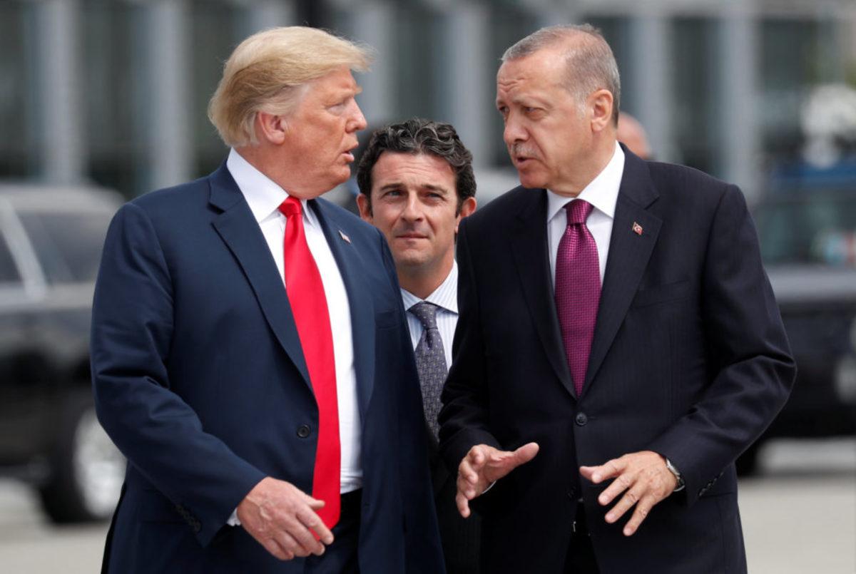 Οργή Τραμπ κατά Ερντογάν για τον Αμερικανό πάστορα!