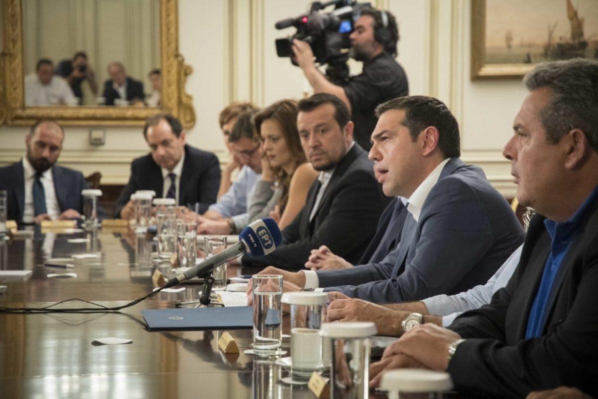 """Φωτιές – Τσίπρας: """"Αναλαμβάνω ακέραια την πολιτική ευθύνη για την τραγωδία"""""""