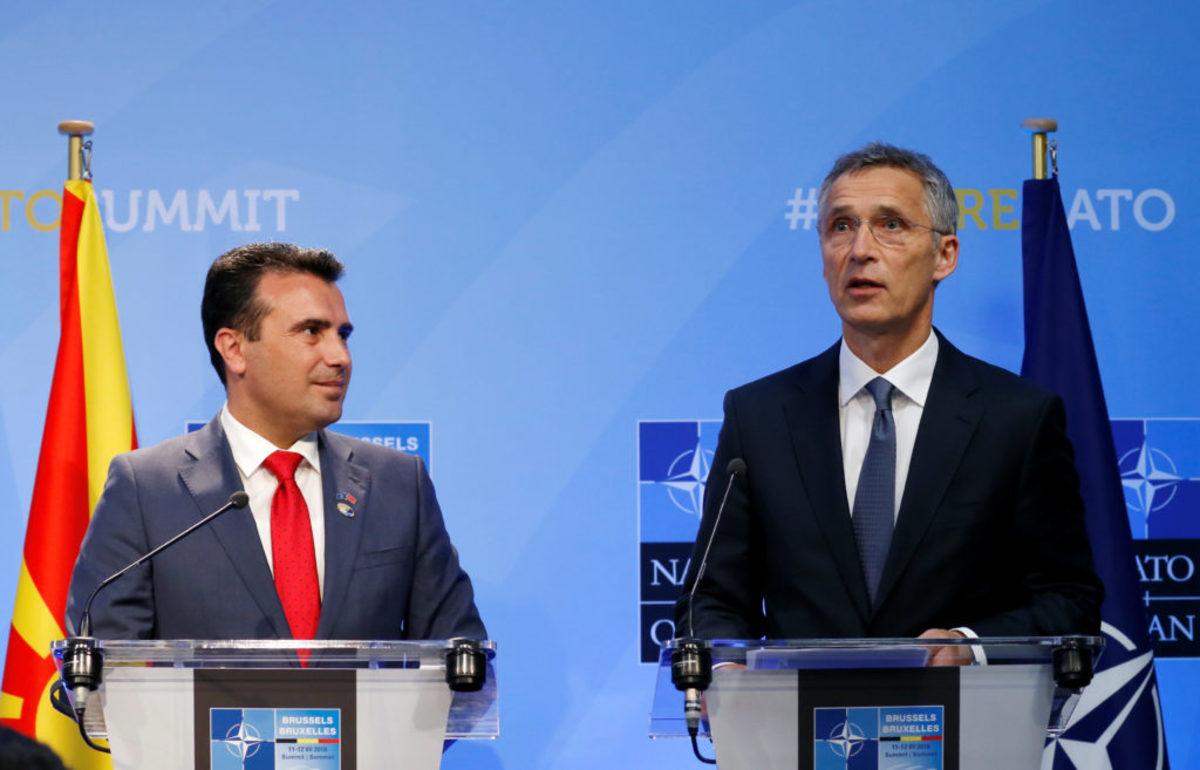 Στόλτενμπεργκ: Αν η ΠΓΔΜ δεν εφαρμόσει πλήρως τη συμφωνία των Πρεσπών δε θα μπει στο ΝΑΤΟ