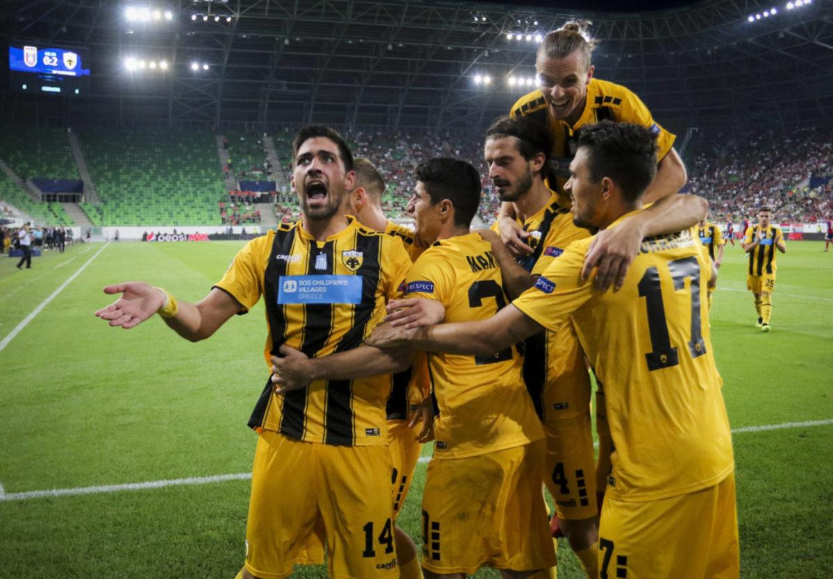 """Το """"δώρο"""" της ΑΕΚ στο ελληνικό ποδόσφαιρο! Σταθερά 14η η Ελλάδα στην κατάταξη της UEFA"""