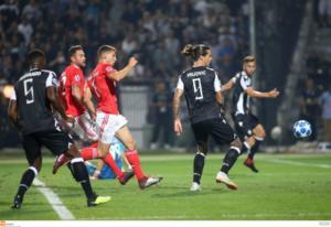 ΠΑΟΚ – Μπενφίκα 1-4 ΤΕΛΙΚΟ – Έσβησε το όνειρο του Champions League για τον Δικέφαλο