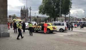 Επίθεση με μαχαίρι σε σταθμό τρένου στο Άμστερνταμ – video