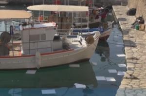 Ναύπακτος: Διαρροή πετρελαίου στο λιμάνι – Η οσμή που προκάλεσε την κινητοποίηση των αρχών – video
