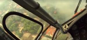 Το συγκλονιστικό video από την πυρκαγιά – Με τα μάτια του πιλότου