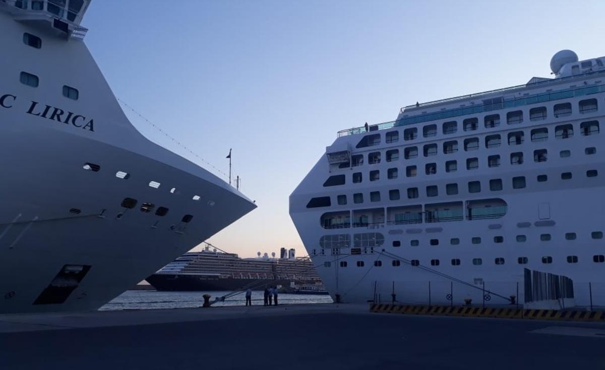 Στο Ηράκλειο τρία κρουαζιερόπλοια με 9.000 τουρίστες