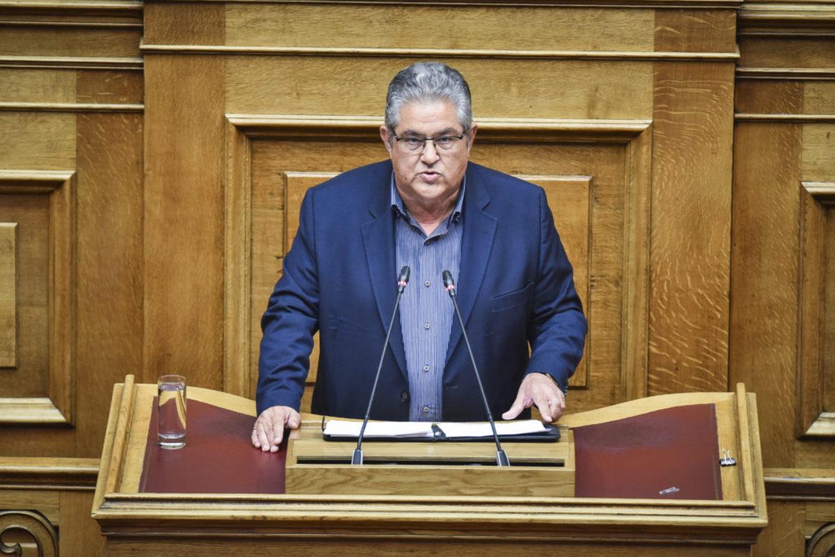 """Κουτσούμπας: """"Εδώ καράβια χάνονται, ο κ. Τσίπρας αρμενίζει"""""""