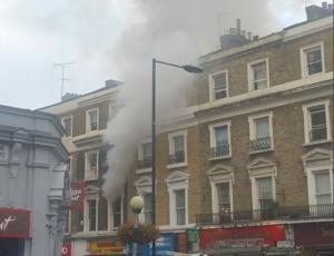 Μεγάλη πυρκαγιά στο Λονδίνο!