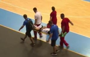 Εθνική Παίδων: Τραυματίστηκε ο Κωστόπουλος! Αποχώρησε με φορείο – video