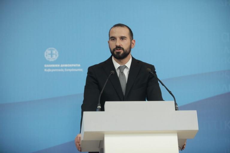 """Τζανακόπουλος: """"Η ΝΔ καθοδηγείται από συγκεκριμένα οικονομικά και εκδοτικά συμφέροντα"""""""