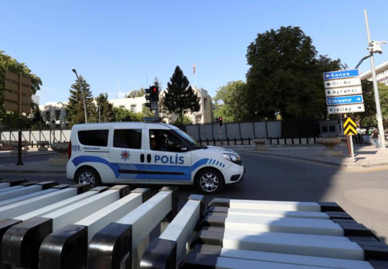 Συναγερμός στην Άγκυρα! Πυροβολισμοί στην πρεσβεία των ΗΠΑ