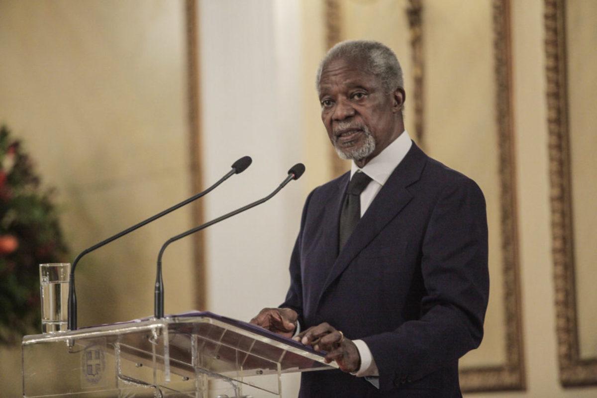 Γκάνα: Στις 13 Σεπτεμβρίου η κηδεία του Κόφι Ανάν