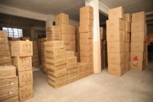 Δέκα τόνοι ακατάλληλα τρόφιμα σε κατάστημα και αποθήκη στο Γέρακα!