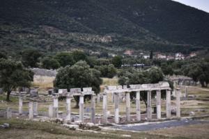 Αρχαία Μεσσήνη: Στο φως ο ναός της Ίσιδας