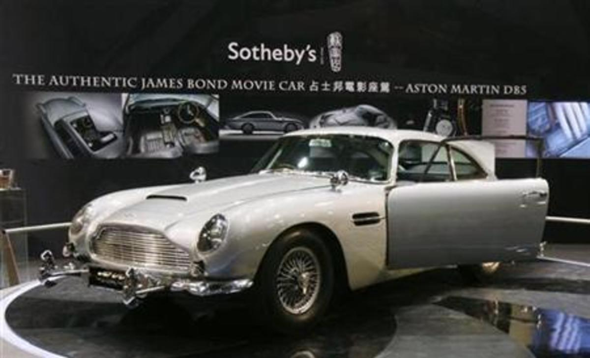 Φτιάχνουν 25 Aston Martin σαν αυτή του Τζέιμς Μποντ στον Χρυσοδάκτυλο