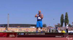 Πρωταθλητής Ευρώπης ο Χαριτωνίδης στη σφαίρα