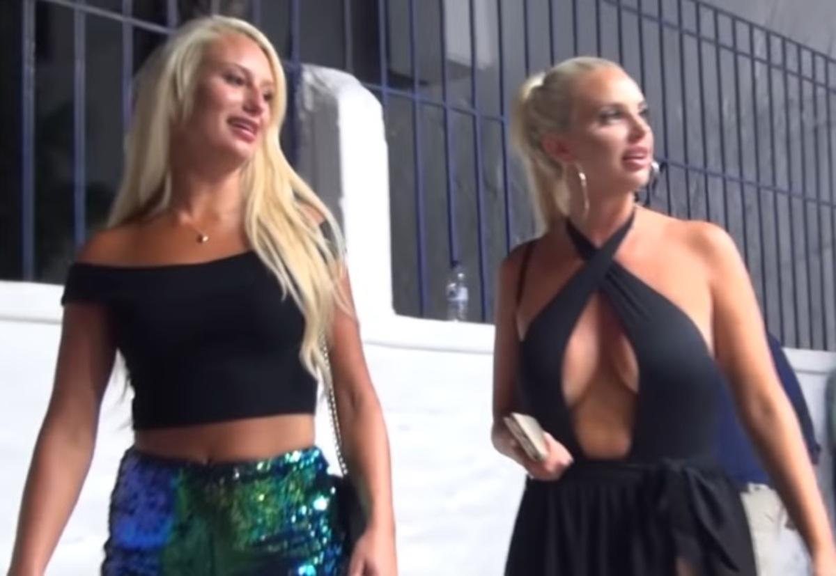 Μύκονος: Μάχη στήθος με στήθος στα Ματογιάννια – Μαμάδες και κόρες κεντρίζουν τα βλέμματα – video