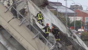 """Γένοβα: Η συγκλονιστική στιγμή της κατάρρευσης της γέφυρας- """"Ω θεέ μου, ω θεέ μου"""" – video"""