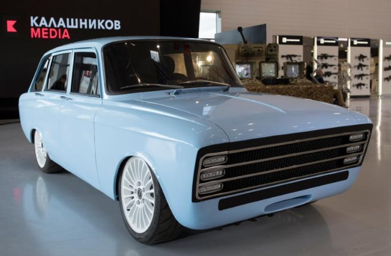 Ο όμιλος «Καλάσνικοφ» σχεδιάζει την κατασκευή ενός σούπερ ηλεκτροκίνητου αυτοκινήτου! [pics]