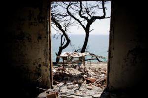 Φωτιά στο Μάτι: 92 οι νεκροί – 25 καταθέσεις στον Εισαγγελέα – Θα κληθούν ως μάρτυρες οι συγγενείς των νεκρών