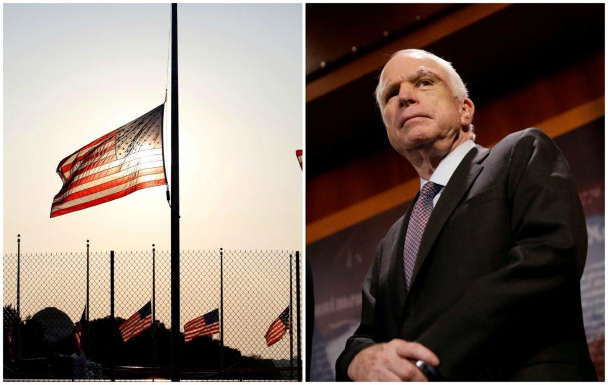 Μεσίστιες οι σημαίες για τον Τζον Μακέιν – Οι πρώτες λεπτομέρειες για την κηδεία [pics]