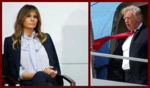 Μελάνια Τραμπ: Σκάβει συστηματικά τον «λάκκο» του Προέδρου! Τον τρολάρει και ξεπληρώνει την ταπείνωση