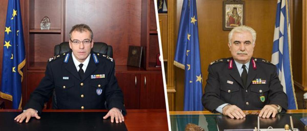 Αυτοί είναι οι νέοι αρχηγοί της Πυροσβεστικής και της Αστυνομίας