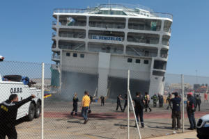 Ελευθέριος Βενιζέλος: Εντολή να εκκενωθεί το πλοίο! Πήρε ξανά κλίση!