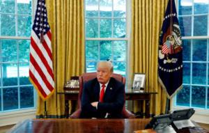 Τραμπ: Με δούλεψε ο Ερντογάν! Είχαμε κάνει συμφωνία και δεν την τήρησε!